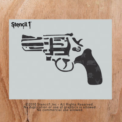 graphic regarding Gun Stencils Printable identify Impression Gallery Stencil 1