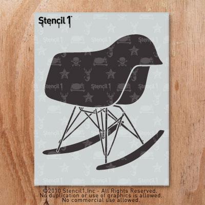Remarkable Chair Mod Rocker Stencil 8 5X11 Lamtechconsult Wood Chair Design Ideas Lamtechconsultcom